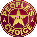 The People's Choice logo for 2013